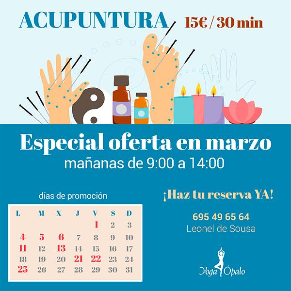 oferta acupuntura
