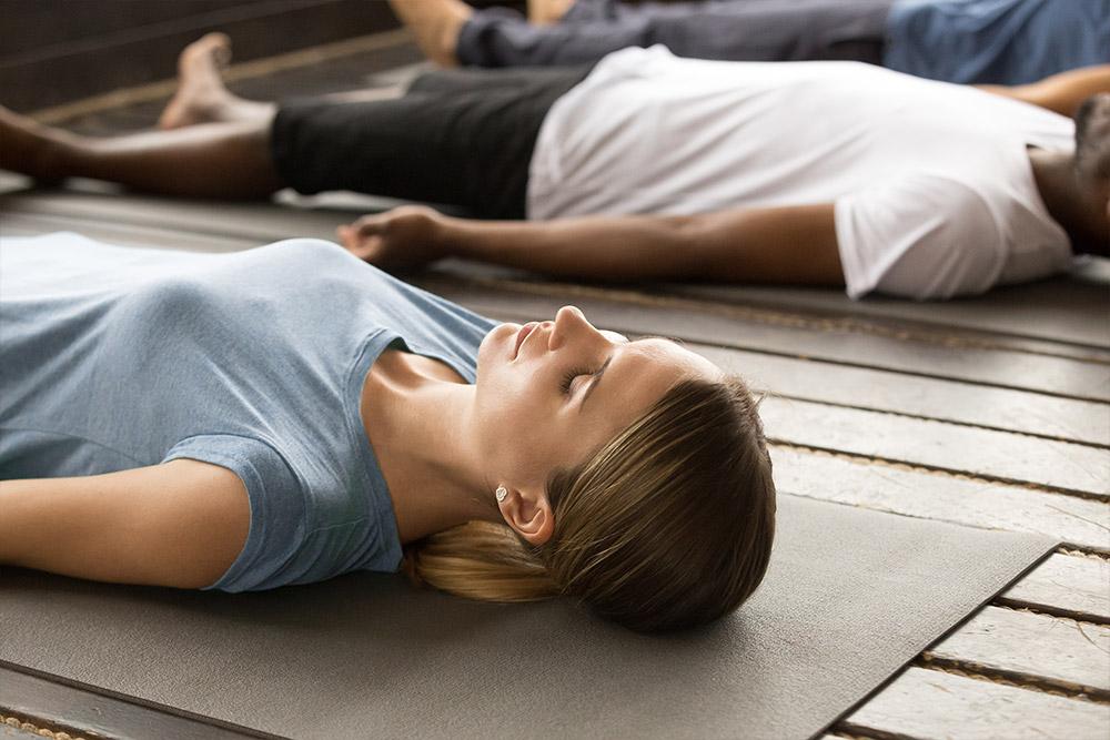 yoga nidra en Yoga Ópalo