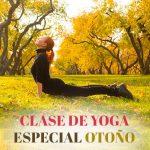 clase especial otoño en Yoga Ópalo
