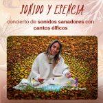 Sonido y esencia, concierto de cantos élficos en Yoga Ópalo